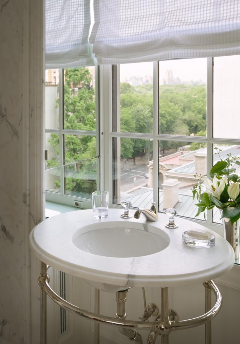 Marble sink. © Gomez Associates