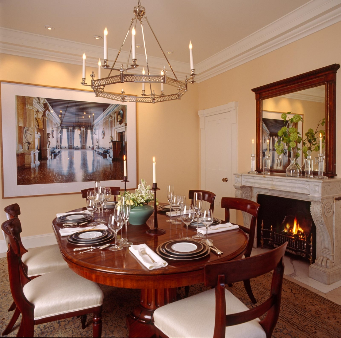 Dining room. © Gomez Associates
